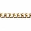 Aluminum Chain 15x12mm Gold 25m/spool